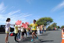 2016 Honolulu Rainbow EKIDEN / 4th annual Honolulu Rainbow EKIDEN! 5km X 5 runners road relay race!!