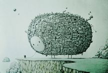 Illustration Art and ... / by Hiroshi Neya