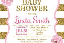 Shower invitación