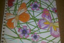 Kleuren voor volwassenen mijn creaties