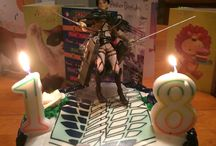 Anime cakes
