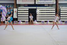 II Trofeo iniciación, Gandía / El pasado 12 de Abril se celebró en el Pabellón Municipal de Gandía, el II Trofeo de Iniciación a la gimnasia rítmica organizado por el club deportivo Educasport, dónde han participado más de 100 gimnastas del Colegio Palacio, Colegio Juan XXIII y Educasport.