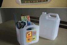 Rôzne veci s plastu.