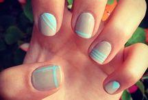 hair - nails