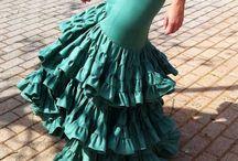 Cómo hacer vestido flamena