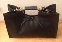 Black navy bags