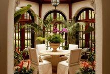 Conservatory greenroom