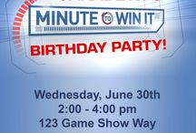 Minute To Win It Birthday Party / by Devon Nase