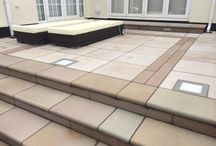 Paving step ideas / Paving step ideas for patios and door entrances with all kinds of paving products