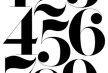 Fonts and numbers