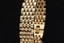 Mens Edelstahl Armband 316 L (Chirurgenstahl) 18 K Vergoldet 72 G 27,90 Euro