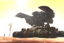 Tanques y Vehículos Terrestres