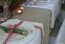 Tafel schikking / Allerlei tafels