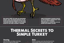 Food and Cooking Infographics / What you need to know about Cooking Temperatures. Infographics that will help you become a better cook.
