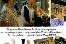 Publicações Mary Kay no Brasil e no Mundo.