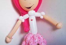Ballons héros / Winnie, Mickey, Porcinet, Tigrou, Schtroumpf, Cars, Diddle, Minnie, Bouriquet, Pucca, Charlotte aux fraises, Dora, Star wars, princesses, Homer SIMPSON, Pikachu, Snoopy, Marie, Diddlina,