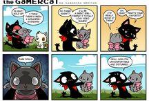 gamer cat♡