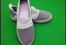 cipő horgolás