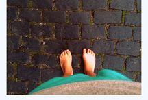 Besa la tierra que besan tus pies♥ / Piesitos viajeros...