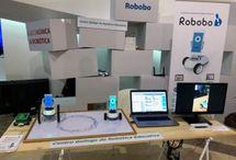 Robobo en la Maker Faire 2017. Santiago de Compostela / Feria sectorial de Inventores y makers.