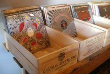 Rangements vinyles