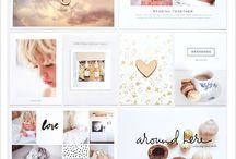 Digital Scrapbook Pages