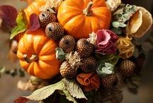 Осенние свадебные букеты / Подборка осенних свадебных букетов