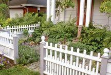 Садовые заборчики, ширмы