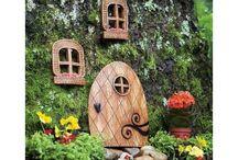 garden decorating fairy ideas / garden ideas for kids , adults