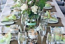 Finding Tablescapes and Party Ideas / It is always nice to make the table a little extra special...