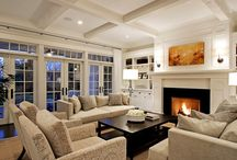Family Rooms / by Jenny (Evolution of Style)