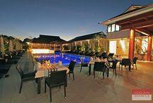 Semara Seminyak / An impressive villa with amazing architecture called Semara Seminyak is a small haven of happiness in the heart of Bali.