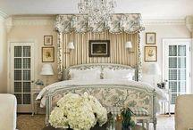 English style bedroom
