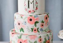 Cake inspiration / Beautiful cakes that I love.