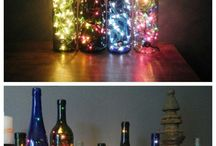 Bottle Lamps