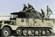 WWII German - Halftracks