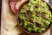 Guacamole / Here, terrific guacamole recipes including smoky bacon guacamole and a chunky guacamole topped with melted cheese.