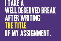 Writing Memes / A #meme for everything. Including #writing!