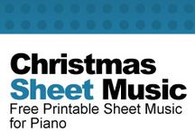 Piano sheet