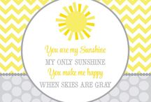 Baby Shower!! / Casey wants the shower theme to be You are My Sunshine.  / by Missy Horn