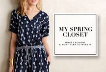Spring 2015 / by Jessica Quirk | What I Wore