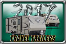 2017 Travel Trailers / New 2017 Model Year Travel Trailers Floorplans & Exterior Shots