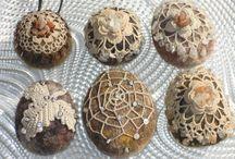 Cailloux ,pierres et galets décorés
