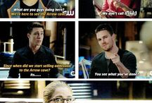 Arrow + the flash / The amazing tv show