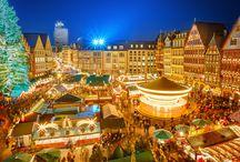Marchés de Noël / Noël arrive plus vite que l'on ne pense, mais la magie de #Noël, c'est aussi ses marchés allemands, alsaciens, lillois et bien d'autres !