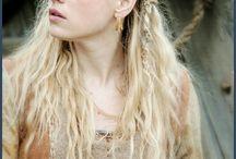 Princess/warrior hairstyles
