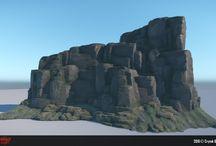 Cliffs and Rocks - Stylized