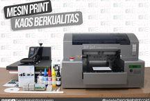 Mesin Print Kaos Murah Berkualitas