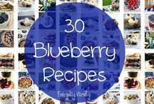 Blueberry Recipes / Did you know how many different recipes you can make using blueberries?  It's not just for dessert! / by The Coupon Challenge, LLC