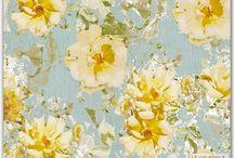 illustration flower & animal / vintage & shabby <3 luv it